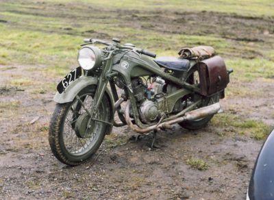 Československý motocykl ČZ 350 (foto: Přemysl Liška)