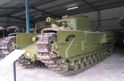 Tank s plamenometem Churchill Crocodile