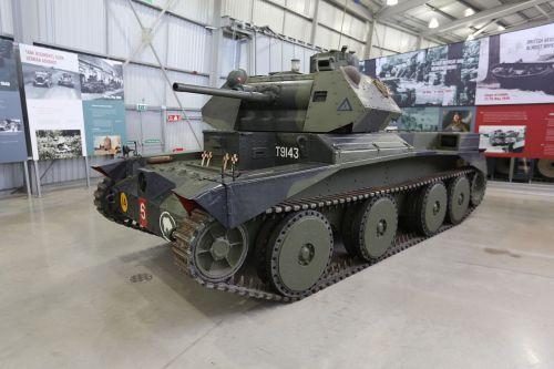 Zachovalý exemplář v Bovington Tank Museum