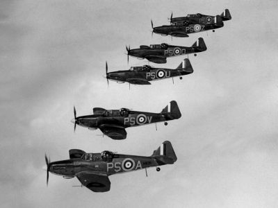 Stíhačky Defiant provozovalo také Královské kanadské letectvo