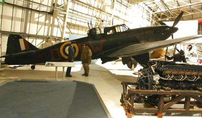 V muzeu RAF v Londýně je k vidění zachovaný Defiant NF Mk I