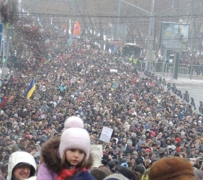 Demonstrace proti politice Vladimira Putina, Moskva, 13. ledna 2013