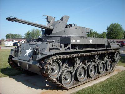 Americký protiletadlový prostředek M42 Duster