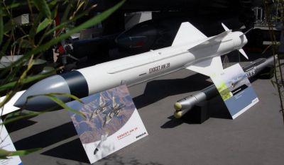 Obávaná francouzská protilodní řízená střela Exocet AM39