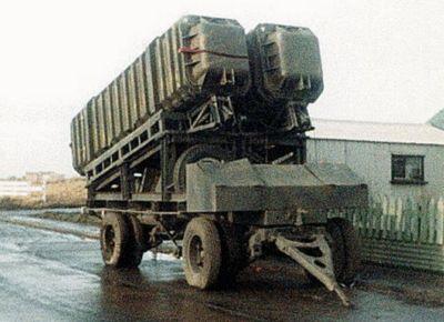 Pozemní odpalovací zařízení ITB pro střely Exocet MM38