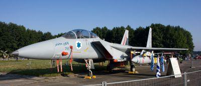 Izraelské letouny F-15 se v roce 2011 objevily v Ostravě