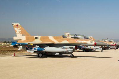 Lockheed Martin F-16D Barak