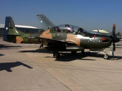 EMB-314 z výzbroje Chilean Air Force (Fuerza Aérea de Chile, FACh)