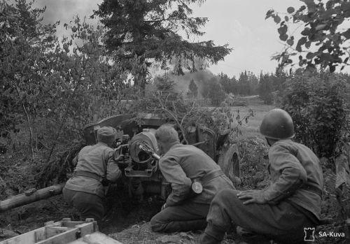 7.5 cm Pak 97/38 ve finských službách v roce 1944