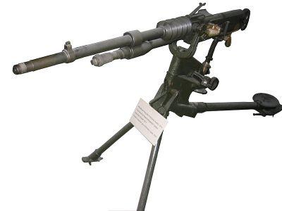 Francouzský těžký kulomet Hotchkiss model 1914