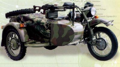 Nejmodernější ruský motocykl IMZ-8.1030 Gear-up