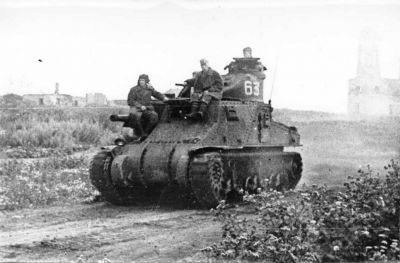 Americký střední tank M3A3 General Lee ve službách Rudé armády