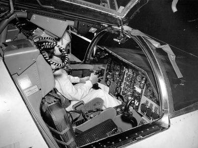 General Dynamics F-111A cockpit