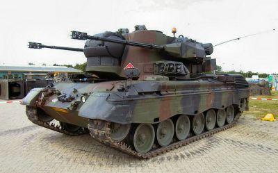 Německý samohybný protiletadlový kanon Gepard