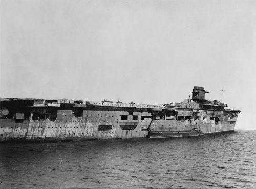 Graf Zeppelin 5. dubna 1947