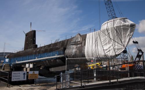 HMS Alliance (P417) na fotografii z 18. října 2011
