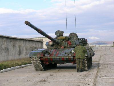 Gruzijský T-72B1