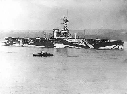 HMS Furious na fotografii z roku 1918