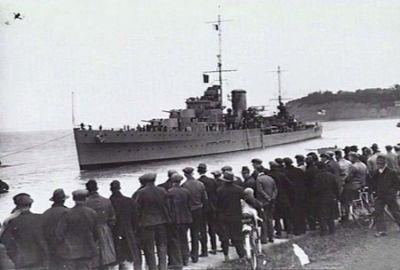 Lehký křižník HMS Neptune na fotografii z roku 1937