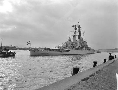 HNLMS De Ruyter na fotce z roku 1962