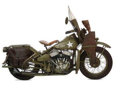 Americký motocykl Harley-Davidson WLA
