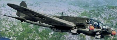Počínaje verzí He 111P získal slavný německý bombardér typickou vejčitou prosklenou příď