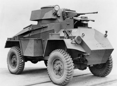 Britský průzkumný obrněnec Humber Armoured Car Mk I