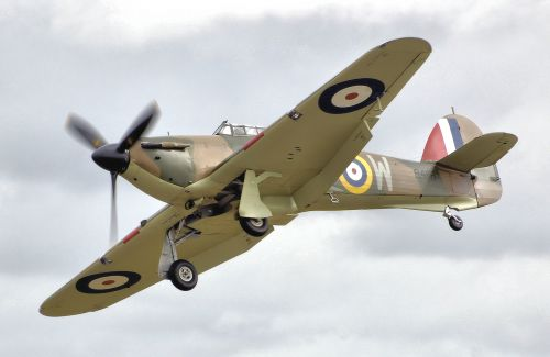 Hurricane Mk.I (R4118), který se zúčastnil bitvy o Británii