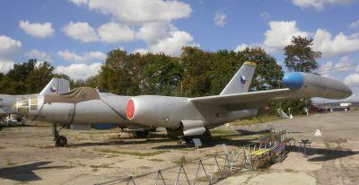 Reaktivní bombardér Il-28 v podobě Il-28RTR pro radiotechnický průzkum