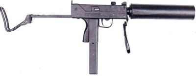 Ingram MAC-11 na náboj 9mm short