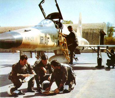 Íránští piloti a letoun Northrop F-5
