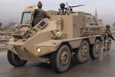 Irácký Panhard VCR v roce 2005