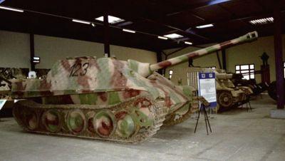 Do dnešního dnes se v muzeích zachovalo deset Jagdpantherů