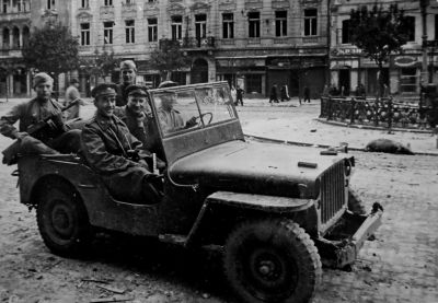 Džípy byly vysoce oblíbené i mezi vojáky Rudé armády