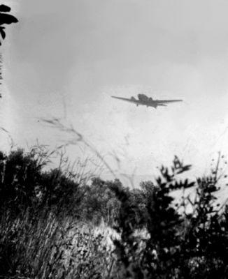 Junkers Ju 52/3m při invazi na Krétu