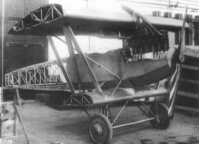 Rozestavěný první prototyp letounu Junkers J.I