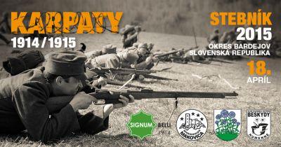 Podujatie Karpaty 1914/1915 – Stebník 2015 (17.-18.4.2015)