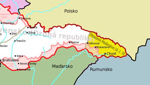 Karpatská Ukrajina 1938–1939