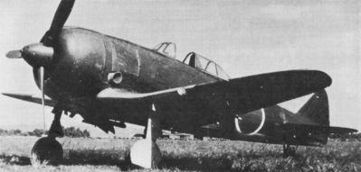 Japonský stíhací letoun Nakajima Ki-44-IIb Shoki