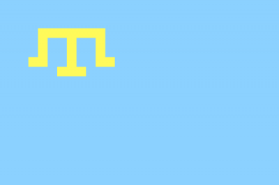 Národní vlajka Krymských Tatarů