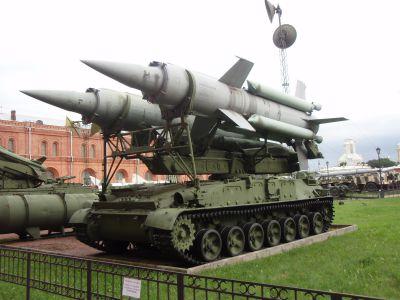 Komplet 2K11 Krug v ruském vojenském muzeu