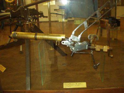 Fotografie kulometu Salvator-Dormus M1893