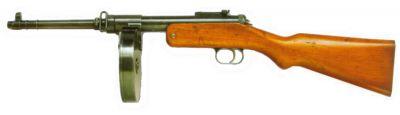 """Pokrokově řešená """"kulometná pistole"""" (samopal) vz. 38"""