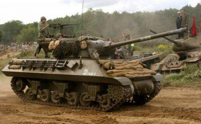 Rychlé obrněnce M36 stále můžeme vídat na show historické techniky