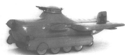 Model létajícího prostředku Smalko MAS-1