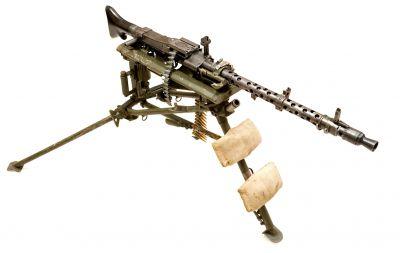Trojnožka kulometu MG34 byla technicky pokročilá, ale zbytečně složitá