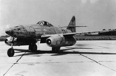 Me 262 se vyznačoval mimořádně propracovanou aerodynamikou