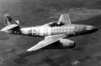 Stíhač Me 262A-1, jehož pilot v březnu 1945 uprchnul k Američanům