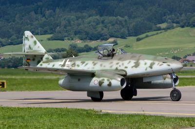 Současná replika základní verze stíhacího letounu Me 262A-1