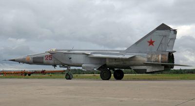 Těžký přepadový stíhač MiG-25 vzbudil kdysi na Západě velké obavy